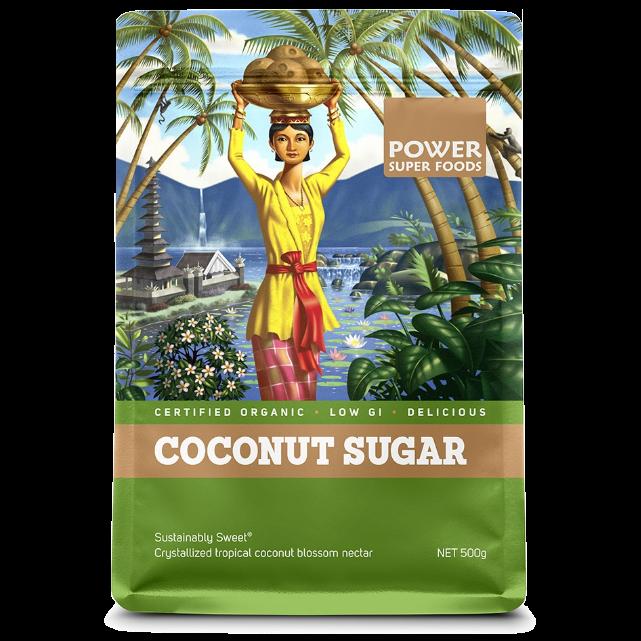 Power Super Foods Organic Coconut Sugar