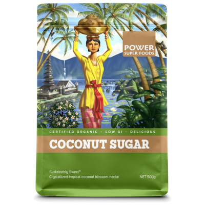Power Super Foods Organic Coconut Sugar