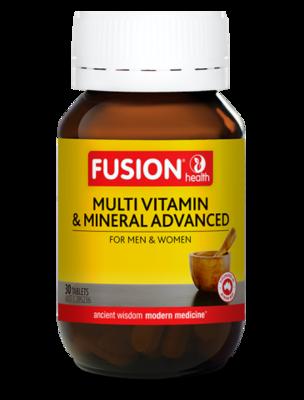 Fusion Health Multi Vitamin & Mineral Advanced