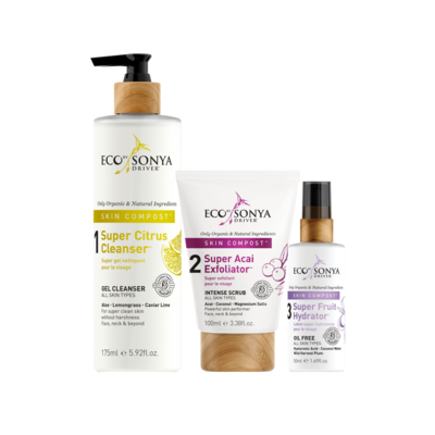 Eco Tan 3 Step Skin Care System with Exfoliator