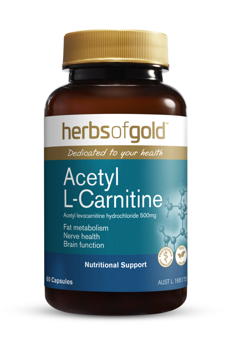 Herbs of Gold Acetyl L-Carnitine