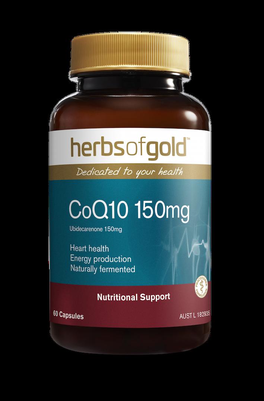 Herbs of Gold CoQ10 150mg