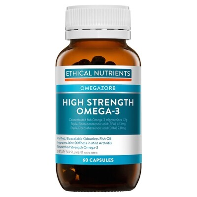 Ethical Nutrients OMEGAZORB High Strength Omega-3 Capsules