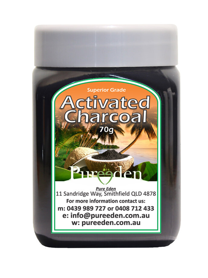 Pure Eden Activated Charcoal Powder