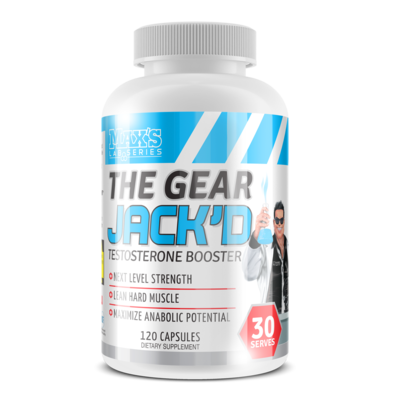 Max's The Gear Jack'D Testosterone Booster