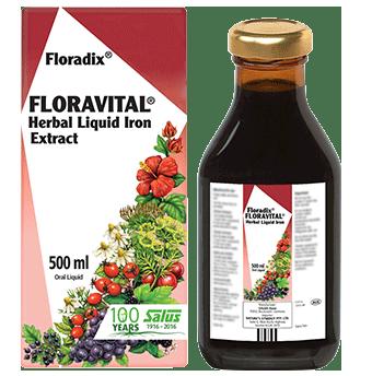 Floradix Floravital Herbal Liquid Iron Extract