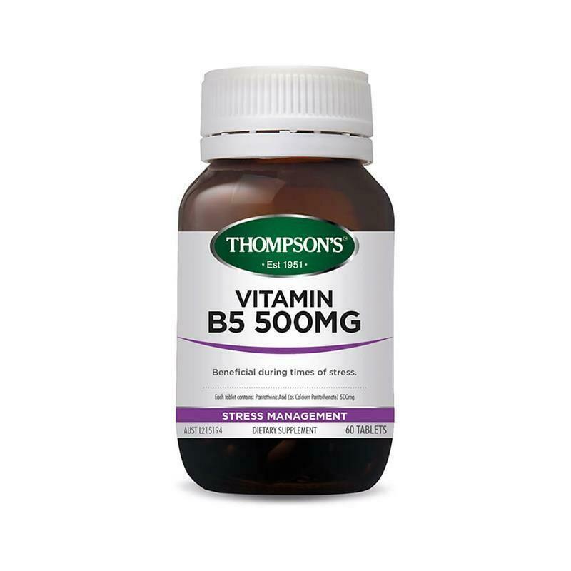 Thompson's B5 Pantothenic Acid 500mg