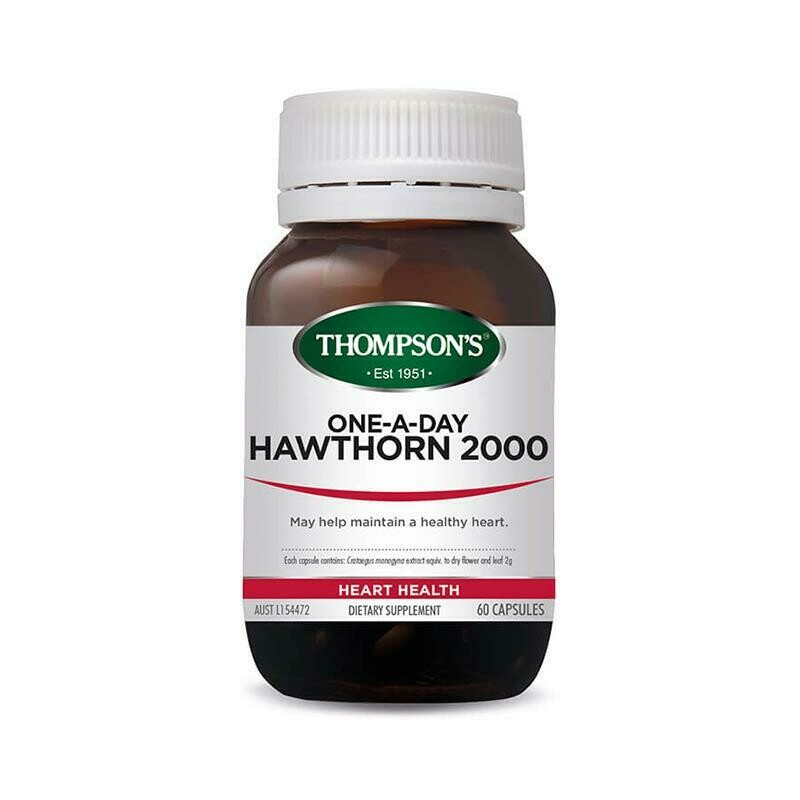 Thompson's One-A-Day Hawthorn 2000