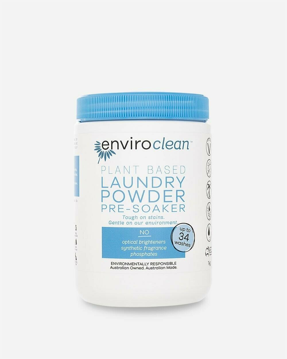 Enviroclean Plant Based Laundry Powder & Pre-soaker