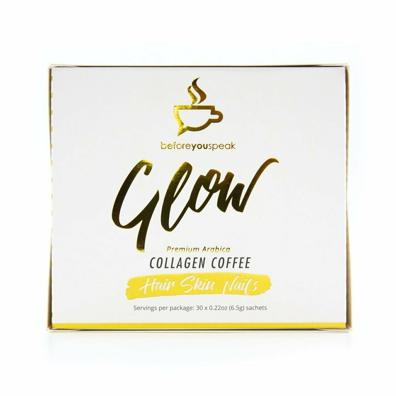 Before You Speak Coffee - Glow Collagen Coffee