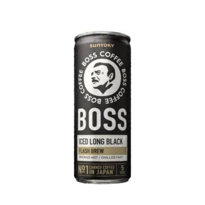Boss Iced Long Black
