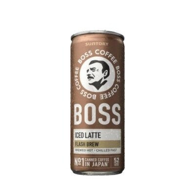 Boss Iced Latte
