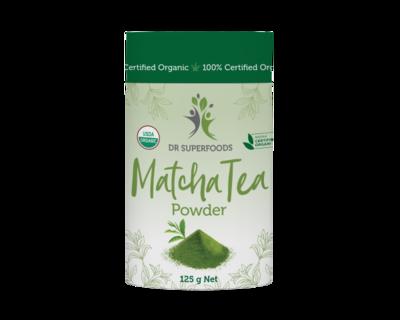 Dr Superfoods Matcha Tea Powder Certified Organic