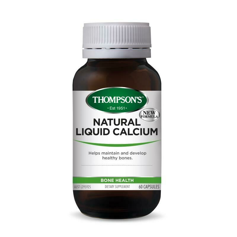Thompson's Natural Liquid Calcium