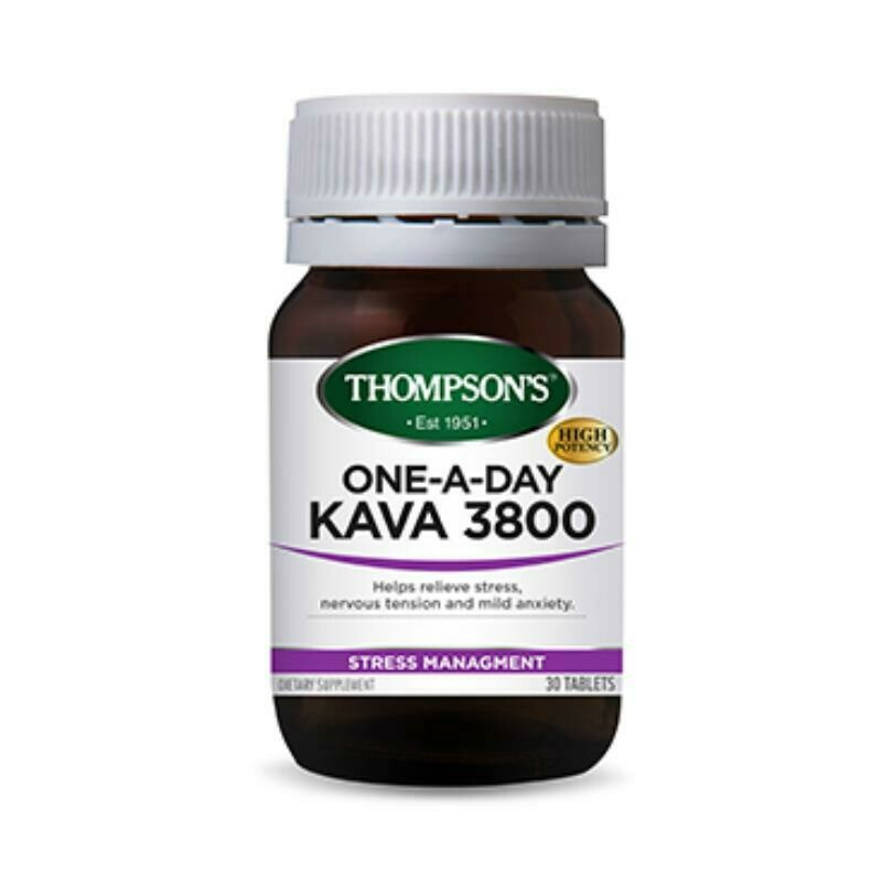 Thompson's One-A-Day Kava 3800