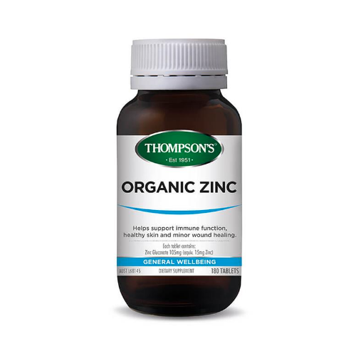 Thompson's Organic Zinc