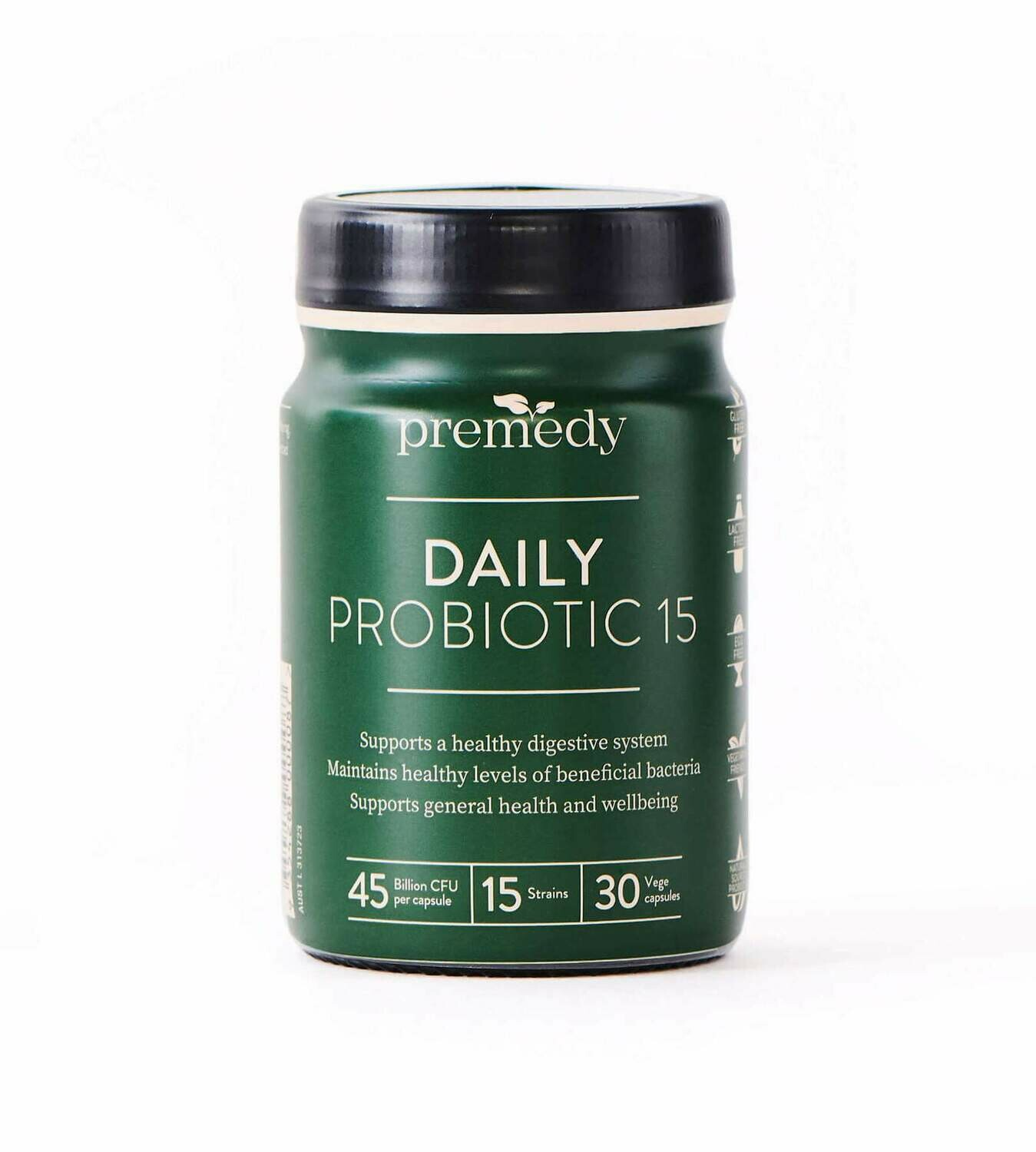 Premedy Daily Probiotic 15 for Adults