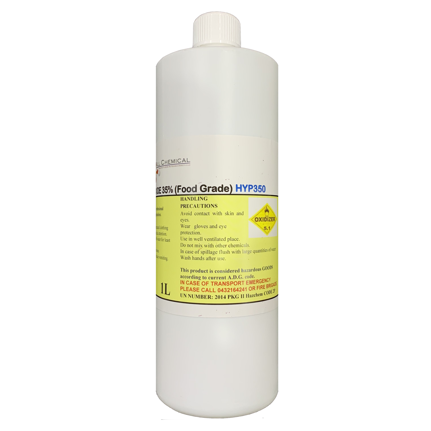 All Chemical Hydrogen Peroxide (Food Grade)