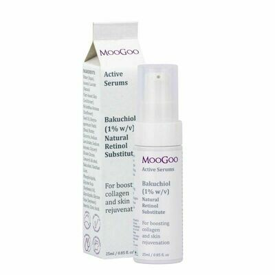 MooGoo Bakuchiol (1% w/v) Natural Retinol Substitute Active Serum