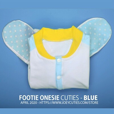 Footie Onesie Cuties - Blue (April 2020 Edition)