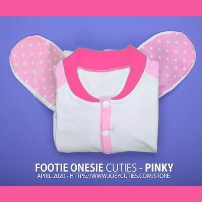 Footie Onesie Cuties - Pink (April 2020 Edition)