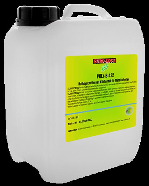 Euro-Lock EL-5000-PB422 - Wasserlösliches Kühlmittelkonzentrat 5 Liter Kanister 