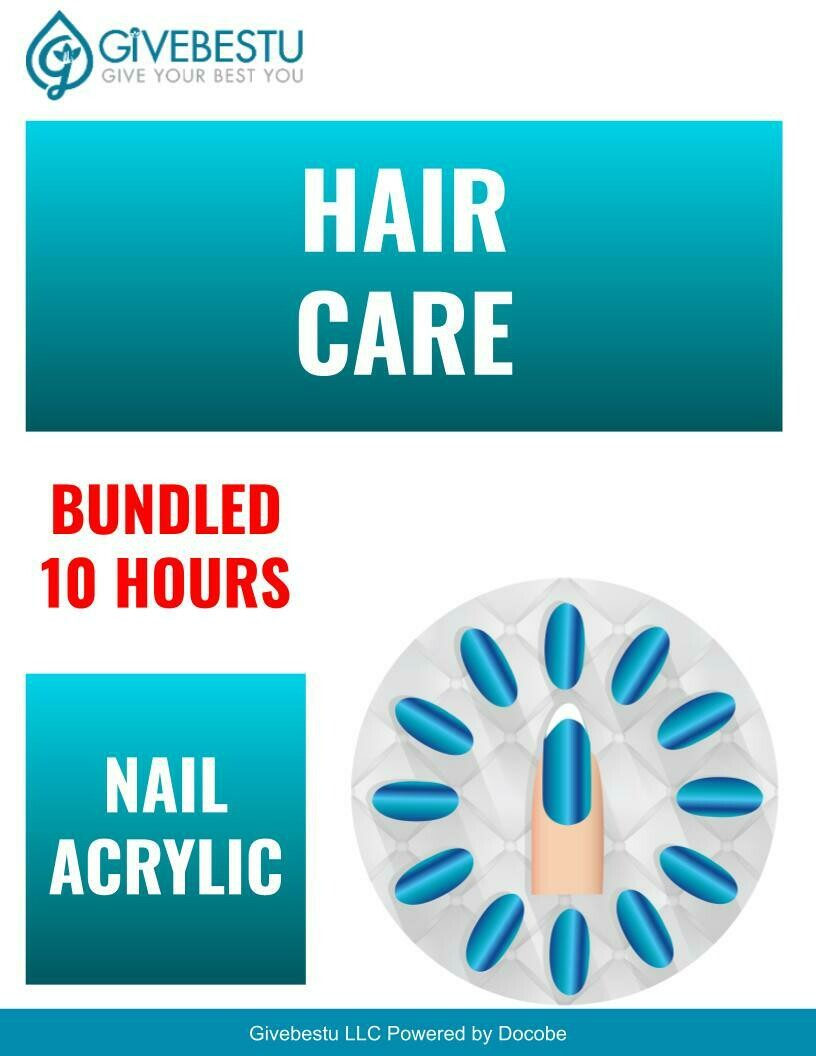 Demo Bundle 10-Hours CE Hair Color & Nail Acrylic Removal