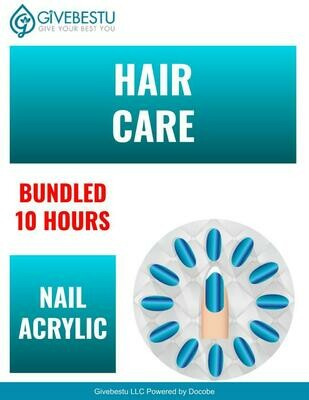 Bundle 10-Hours CE Hair Color & Nail Acrylic Removal