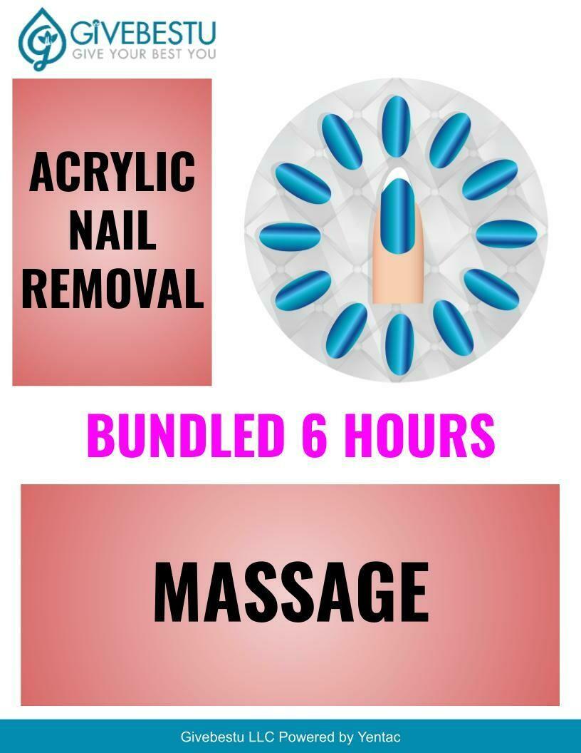 Bundle 6-HR CE Acrylic Nail Removal & Massage
