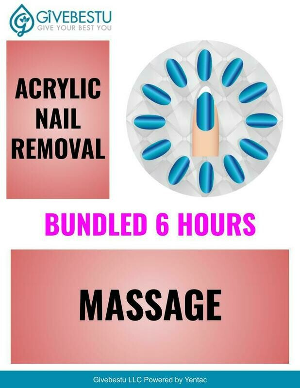 Bundle 6-HR CE Acrylic Nail Removal & Massage