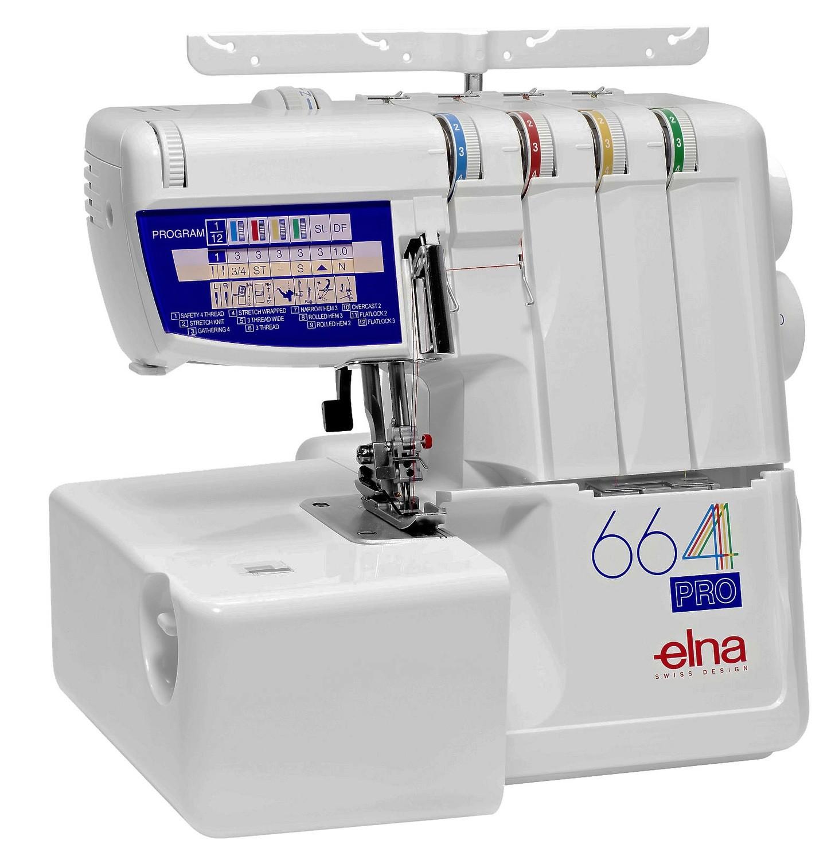 Máquina de Corte e cose Overlock Elna 664 Pro