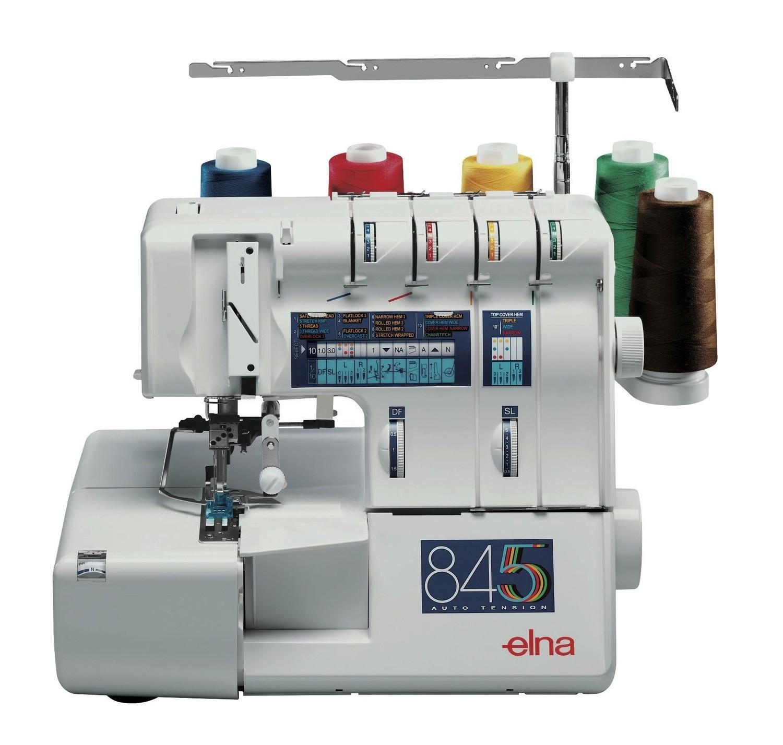 Máquina de corte e cose Overlock Elna 845