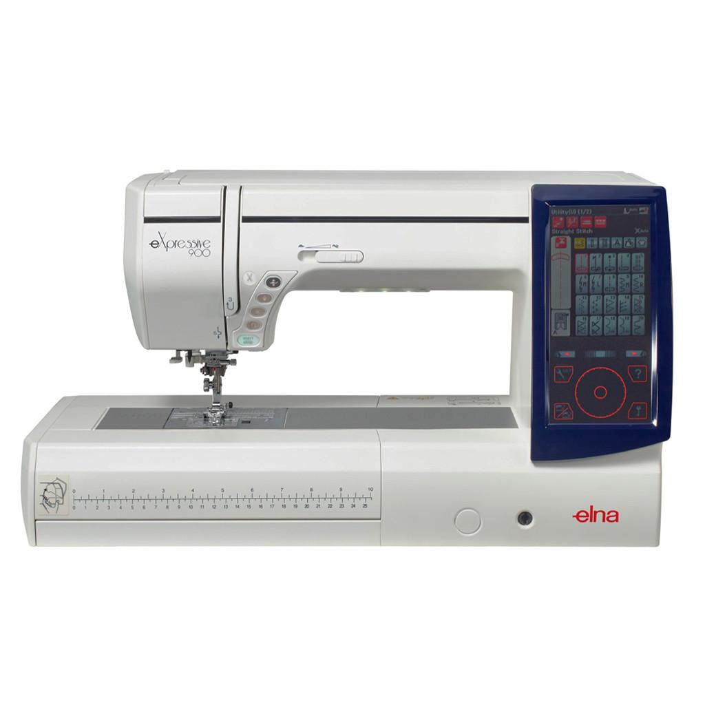 Máquina de coser e bordar Elna 900 Expressive