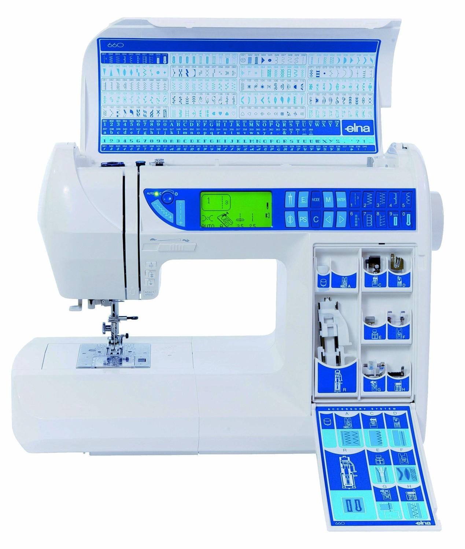 Máquina de Costura Elna 660 Experience