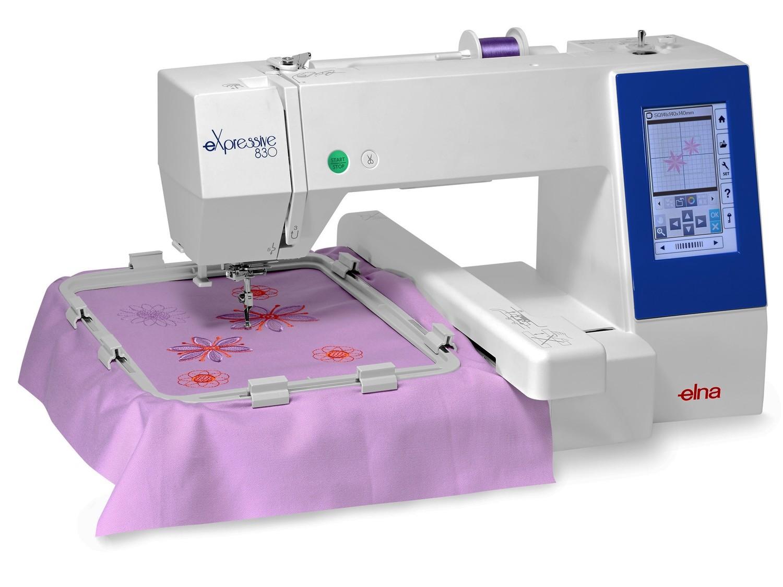 Máquina de Costura Elna 830 Expressive