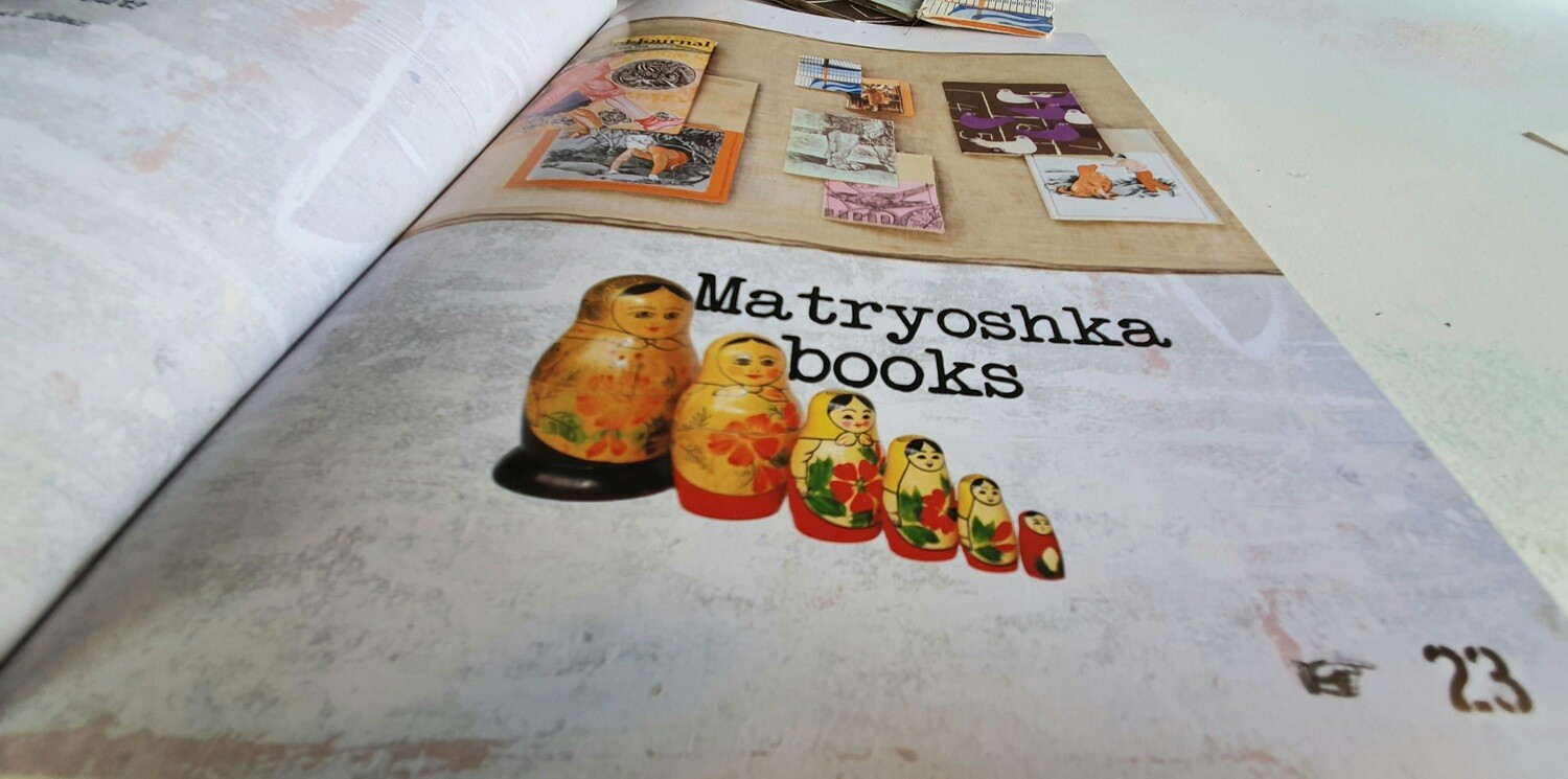ONLINE CLASS: Matryoshka Book Project (from Re:Create)