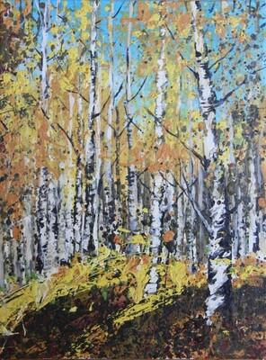 SOLD 'Birches' 9