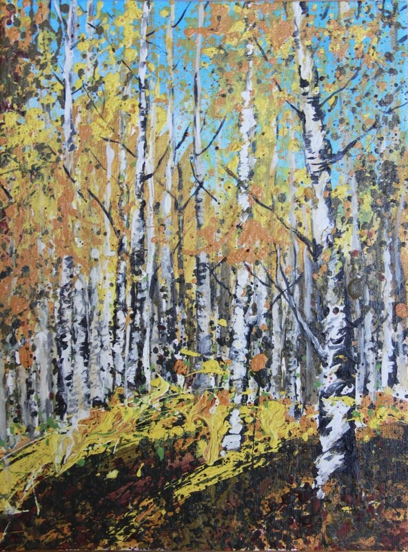 SOLD 'Birches' 9