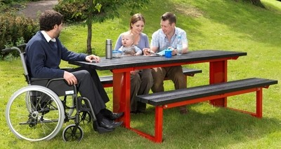 Forest-Saver mobility picnic tables (451)