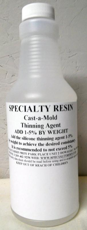Cast-a-Mold Silicone Thinner