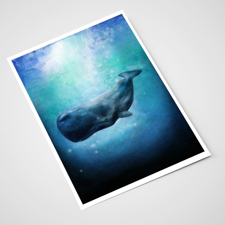 'Whale Whale' Card | A5 print
