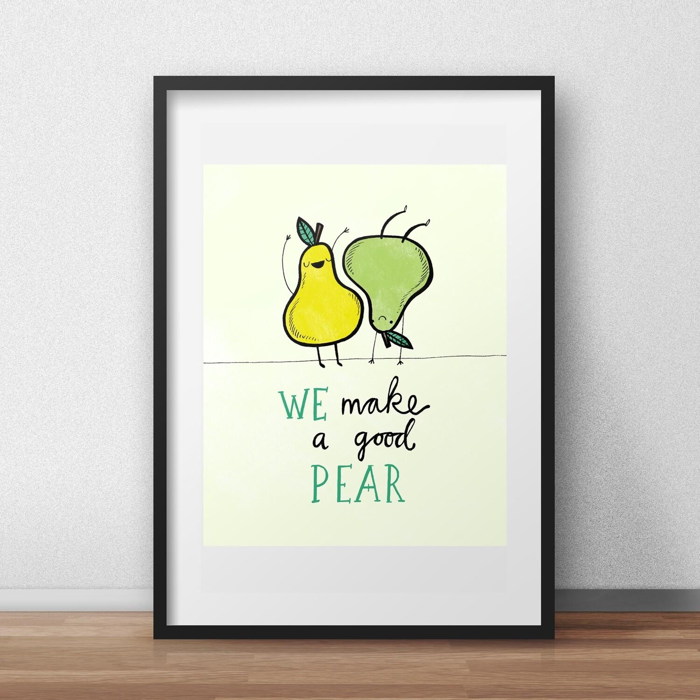 We make a good pear