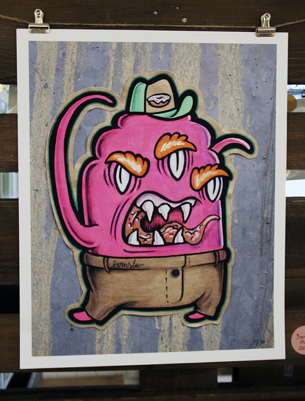 Monsterprint Barnslig