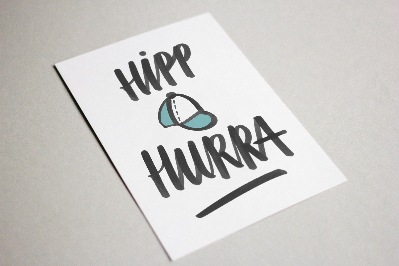 Hipp Hurra - kort