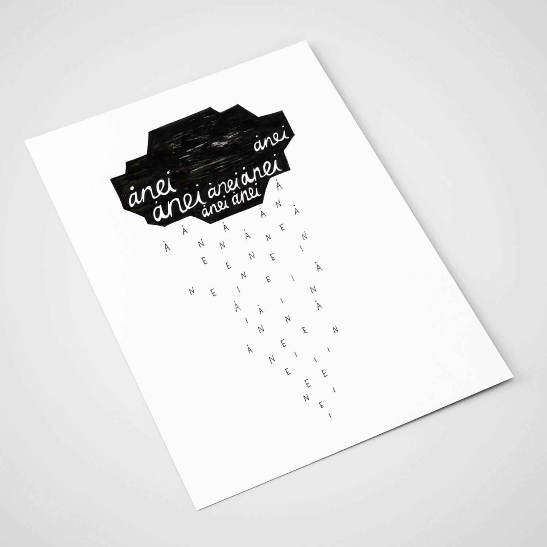 'Ånei' Card | A5 print