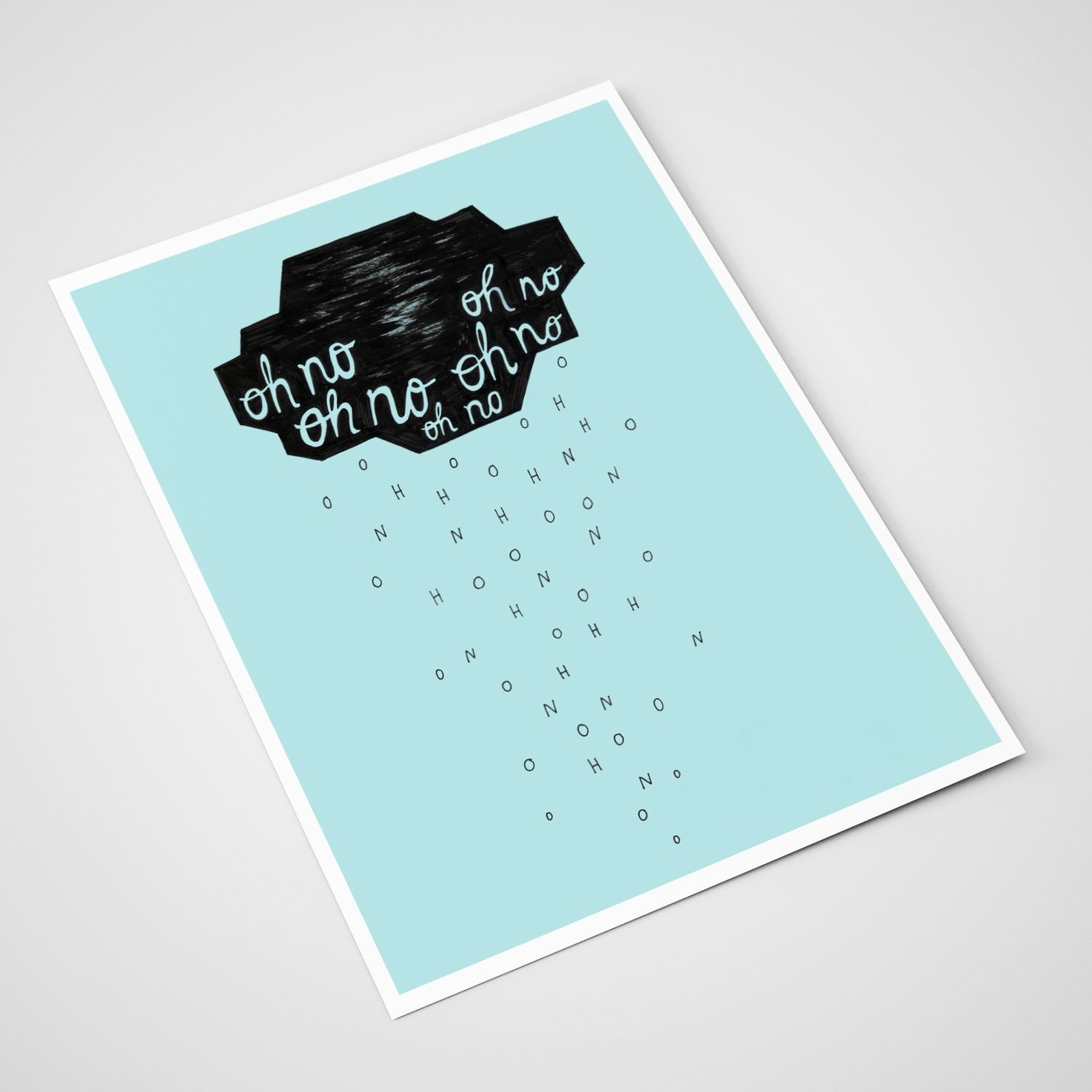'Oh no 2'  Card | A5 print