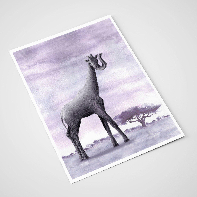 'Sjifant' Card | A5 print