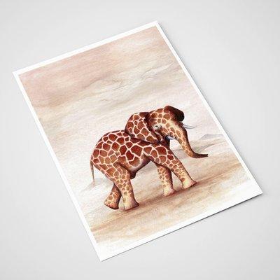 'Eleraf' Card | A5 print