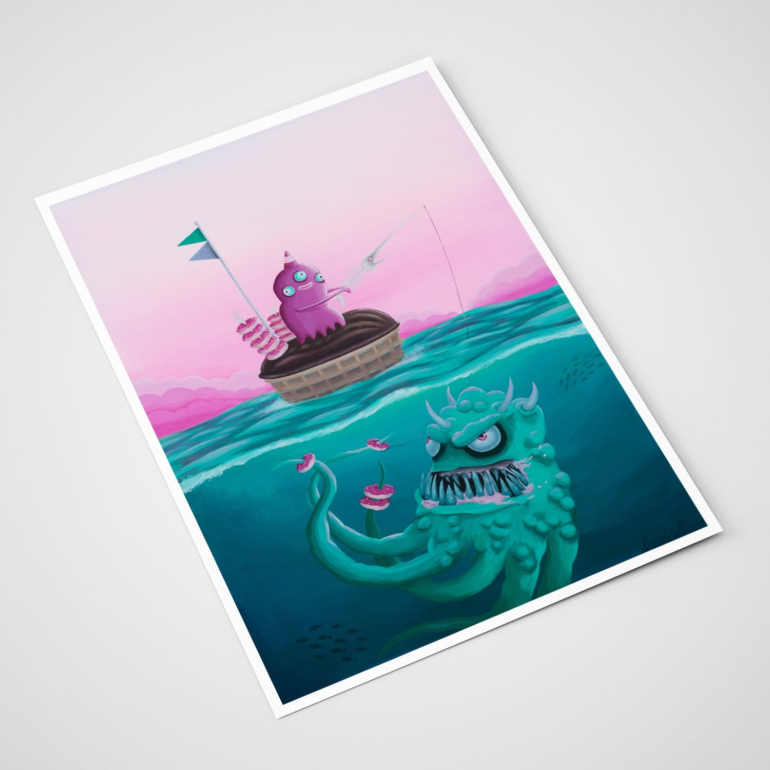 'Fisketur' Card | A5 print