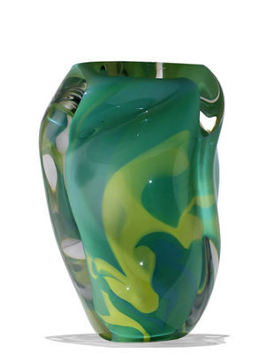 Urn Glas - Green Chalice